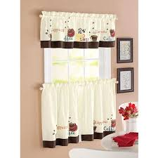 Coffee Kitchen Curtains