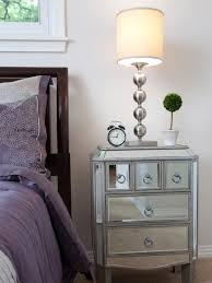 Mirrored Side Tables Bedroom Mirrored Nightstand Many Models And Styles Contemporary Bedroom