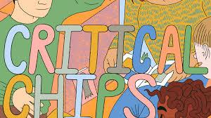 critical chips a contemporary comics essay zine by zainab akhtar  critical chips a contemporary comics essay zine