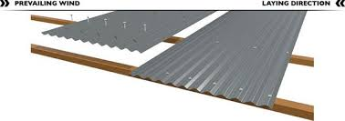 corrugated plastic roofing installation pictures