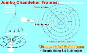 chandelier metal frame chandelier picture frame large metal chrome plated details round circular country black ch chandelier metal frame round