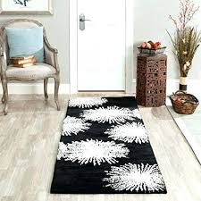white area rug white area rug collection handmade fireworks black and white premium wool area