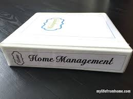 Home Finance Bill Organizer 2015 Putting Together A Household Organization Binder White