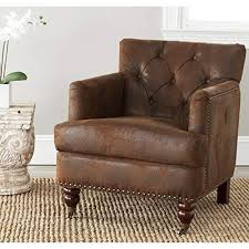 distressed leather chair. Simple Chair Safavieh Hudson Collection Mario Antiqued Brown Club Chair And Distressed Leather T