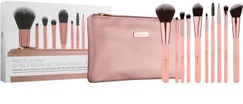 bhcosmetics pretty in pink brush set
