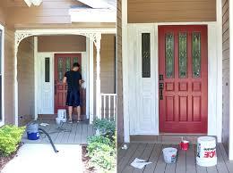 how to paint your front doorHow To Paint Your Fiberglass Front Door Beautiful Or Stain Primer