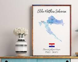 lds personalized gift watercolor sister lds gift ideas decor lds homeing