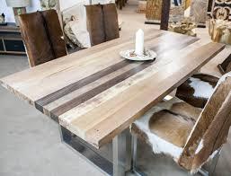 Hervorragend Esstisch Holz Edelstahl Massivholz 1 8904 Haus Ideen