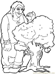 Small Picture Troll Giant Coloring Page 05 Coloring Page Free Fantasy Coloring