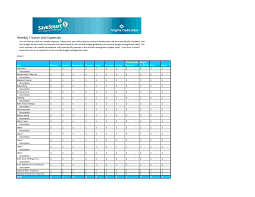 Budget Worksheet Excel Format New Printable Bud Sheet Template ...