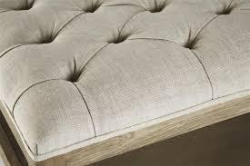 28 square storage ottoman coffee table square tufted linen 100