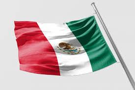 mexican flag waving drawing. Wonderful Mexican Isolated Mexican Flag Waving 3d Realistic Rendered Premium  Photo To Waving Drawing F