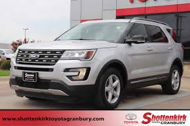 used 2016 ford explorer in weatherford tx