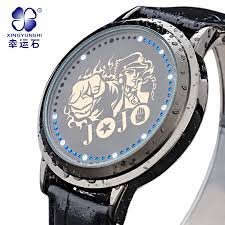 jojo watch promotion shop for promotional jojo watch on aliexpress com brand jojo adventure watch men led sports watch army military digital wristwatches clock waterproof men s relogio masculino