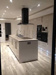 grey kitchen cabinets gloss induction elegant light ideas is