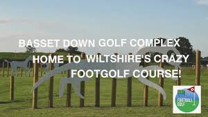 Footgolf Course Design Swindons Only 9 Hole Crazy Footgolf Course Play From 5
