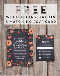 Free Whimsical Wedding Invitation Template Mountain Modern