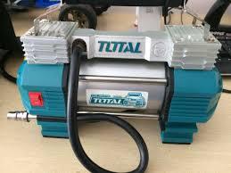 Máy bơm hơi lốp xe ô tô Total TTAC2506T, Giá tháng 1/2021