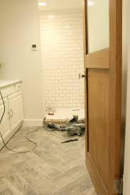 bathroom remodel tile shower. The Grit And Polish - Bathroom Remodel Progress Tile Shower