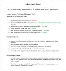 14 Sample Project Status Reports Pdf Word Pages Portable Documents