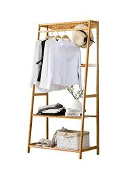cloth hanger rack. Plain Hanger Ufine Garment Rack Bamboo Wood Entryway Clothes Drying With 3 Tier  Shoe Storage Shelves Organizer To Cloth Hanger