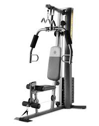 gold s gym xrs 50 home gym with high and low pulley system