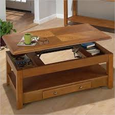 Modern Cherry Lift Top Coffee Table With Storage Coffee Table That Raises Up