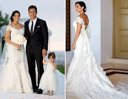 top 5 celebrity wedding dresses of 2012 preowned wedding dresses