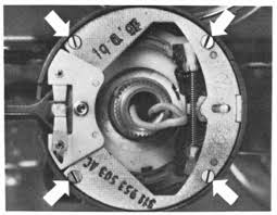 steering column work screws holding turn signal switch