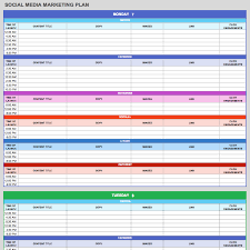 Media Blocking Chart Template Excel Free Templates For Chart