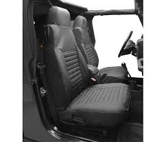seat cover set front high back seat jeep 2003 2006 wrangler