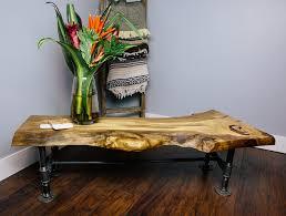 Live edge wood coffee table Glass Insert Liveedge Wood Coffee Tablejpg Stephanie Jarstad Photography Couples Workshop Build Custom Liveedge Wood Coffee Table