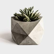 Enchanting Handmade Ceramic Planter Large Geometric Planter Perfect For Air  Plants Geometric Metal Hanging Planter Large Concrete Geometric Planter For  ...