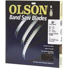80 bandsaw blade. olson 80\ 80 bandsaw blade