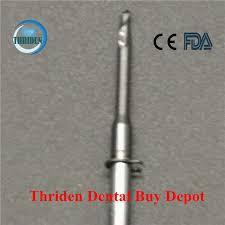 <b>5 Pieces</b>/lot Dental Lab Zirconia Milling Burs VHF K5 length 40mm ...
