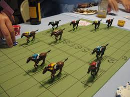 Wooden Horse Race Game Pattern Cool English Rules Wooden Horse Races Game BoardGameGeek