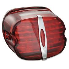 Kuryakyn Ece Compliant Led Taillight Conversion Kit With License Plate Illumination Deluxe Red 5462
