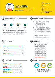 Infographic Resume Awesome What Is An Infographic Resume