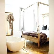 bathtub in bedroom a girlish bedroom with a free standing bathtub next to the bed for bathtub in bedroom