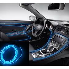 car interior atmosphere lights styling for audi a3 a4 b6 b8 b7 b5 a6 c5 c6 q5 a5 q7 tt a1 s3 s4 s5 s6 s8 accessories in car stickers from automobiles