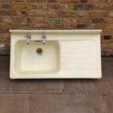 reclaimed yellow cast iron sink salvoweb com