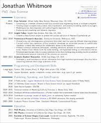 Best Sample Resumes Custom Data Scientist Cover Letter Best Of Data Scientist Resume Sample
