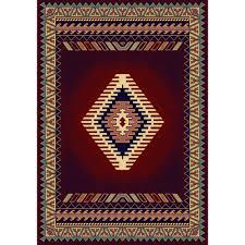 united weavers tuscan burdy 8 ft x 11 ft area rug