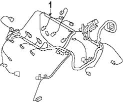 Genuine dodge engine harness dod 5148935ac