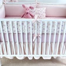 Lilac Arpege Crib Bedding Set Lilac Arpege Crib Bedding Set