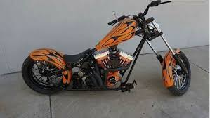 assembled west coast chopper for sale less than 500 miles 25000