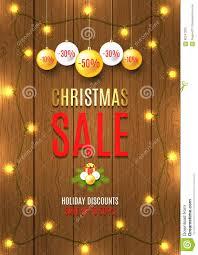 christmas vector flyer christmas lights stock vector christmas vector flyer christmas lights