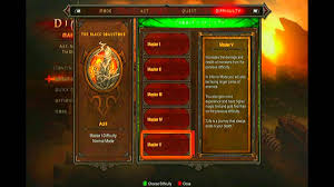 Diablo 3 Xbox 360 Difficulty Guide Explaining All Modes Inferno Master V Complete Bonuses