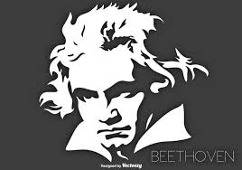 Vector Portrait Of The Musician Ludwig Van Beethoven Svg Ai File