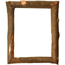 Tree Branch Frame - Custom Frames, Handmade Frames, Wood Log Frames,  Natural Wood